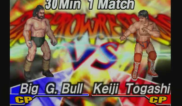 Fire Pro Wrestling Returns: The Briefcase Cup – Match 10
