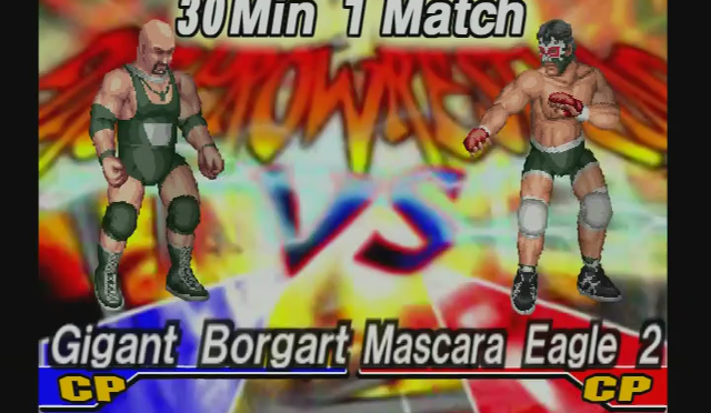 Fire Pro Wrestling Returns: The Briefcase Cup – Match 2