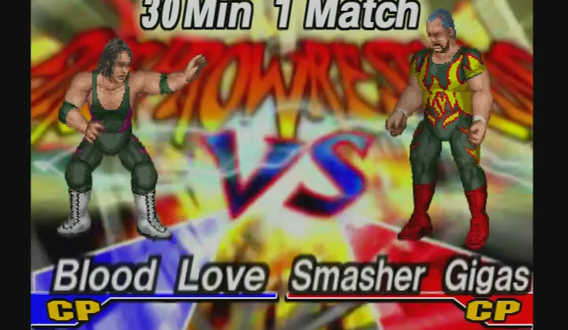 Fire Pro Wrestling Returns: The Briefcase Cup – Match 3
