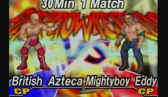 Fire Pro Wrestling Returns: The Briefcase Cup – Match 4