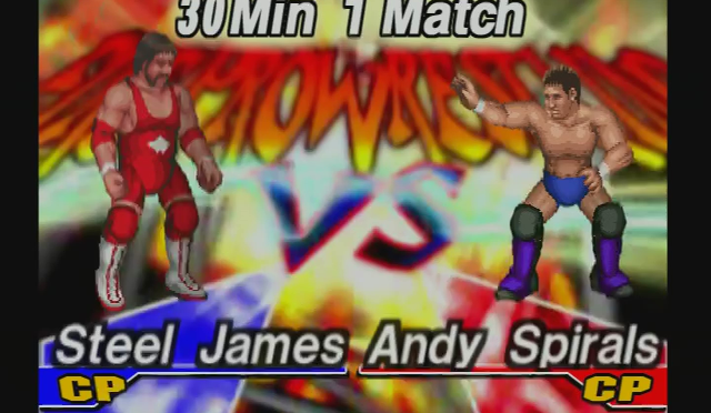 Fire Pro Wrestling Returns: The Briefcase Cup – Match 5