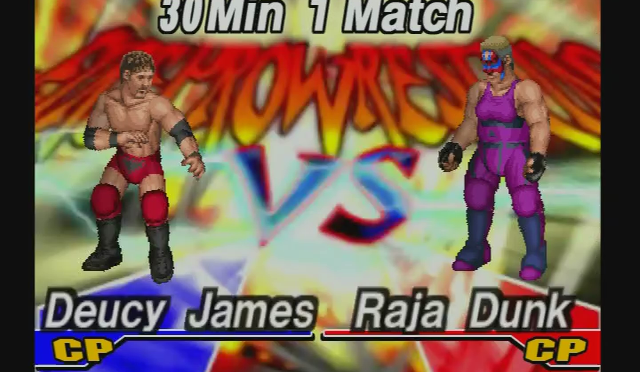 Fire Pro Wrestling Returns: The Briefcase Cup – Match 6