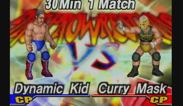 Fire Pro Wrestling Returns: The Briefcase Cup – Match 8
