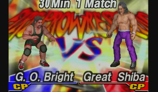 Fire Pro Wrestling Returns: The Briefcase Cup – Match 11