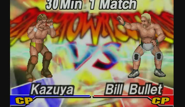 Fire Pro Wrestling Returns: The Briefcase Cup – Match 12