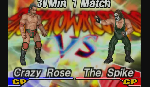 Fire Pro Wrestling Returns: The Briefcase Cup – Match 15