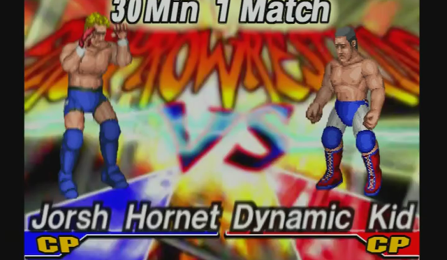 Fire Pro Wrestling Returns: The Briefcase Cup – Match 20