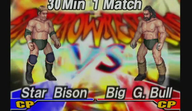 Fire Pro Wrestling Returns: The Briefcase Cup – Match 21