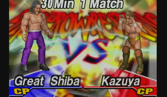 Fire Pro Wrestling Returns: The Briefcase Cup – Match 22