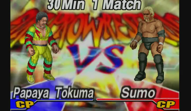 Fire Pro Wrestling Returns: The Briefcase Cup – Match 23