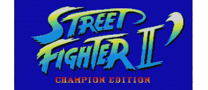 Street Fighter II' – PC Engine